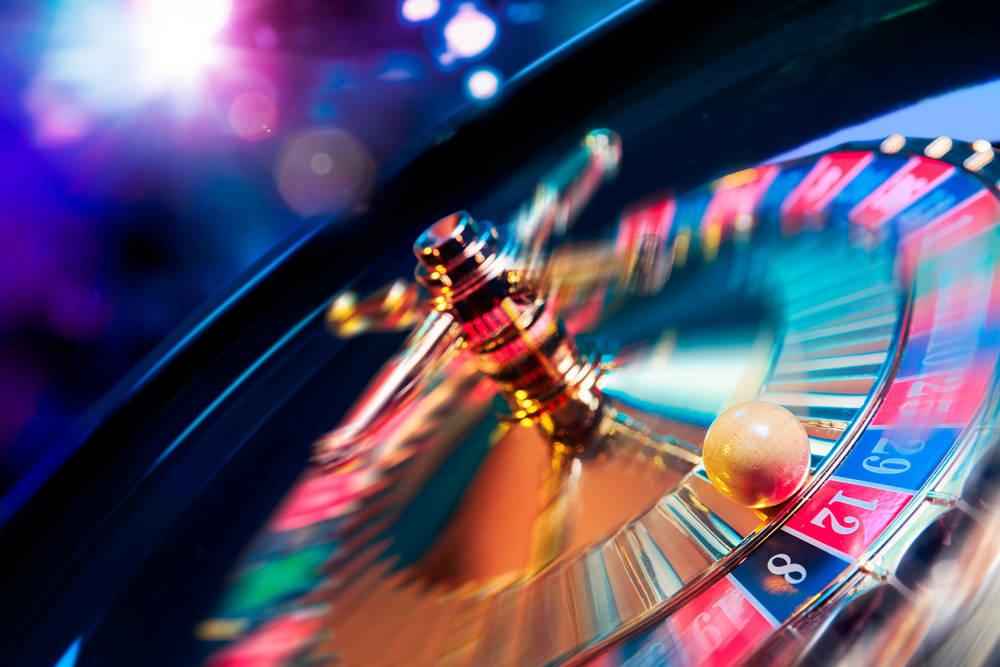 En la inauguración de un casino